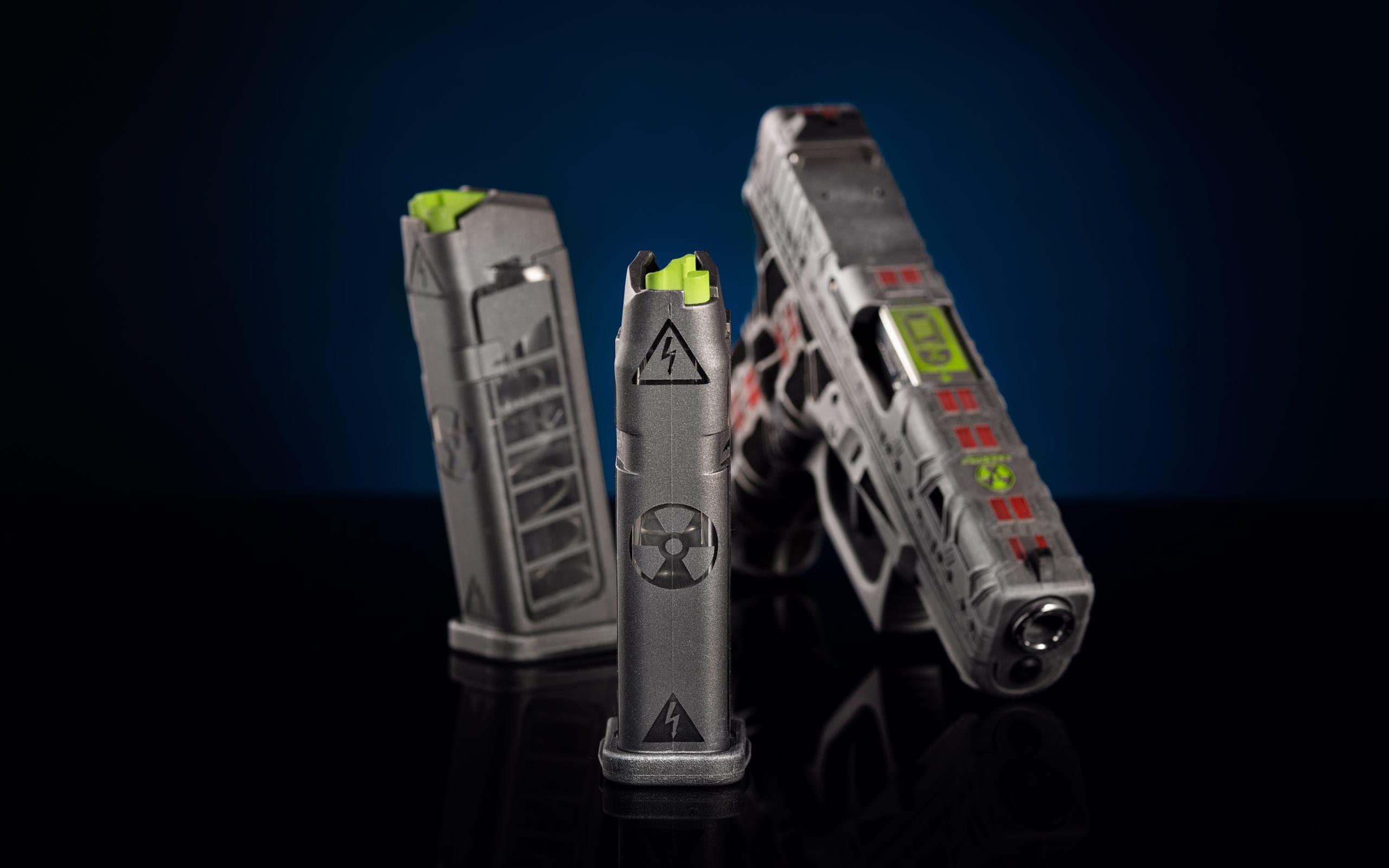 Glock Tuning Schlitten fräsen rotpunktaufnahme cerakote beschichtung cooles tuning