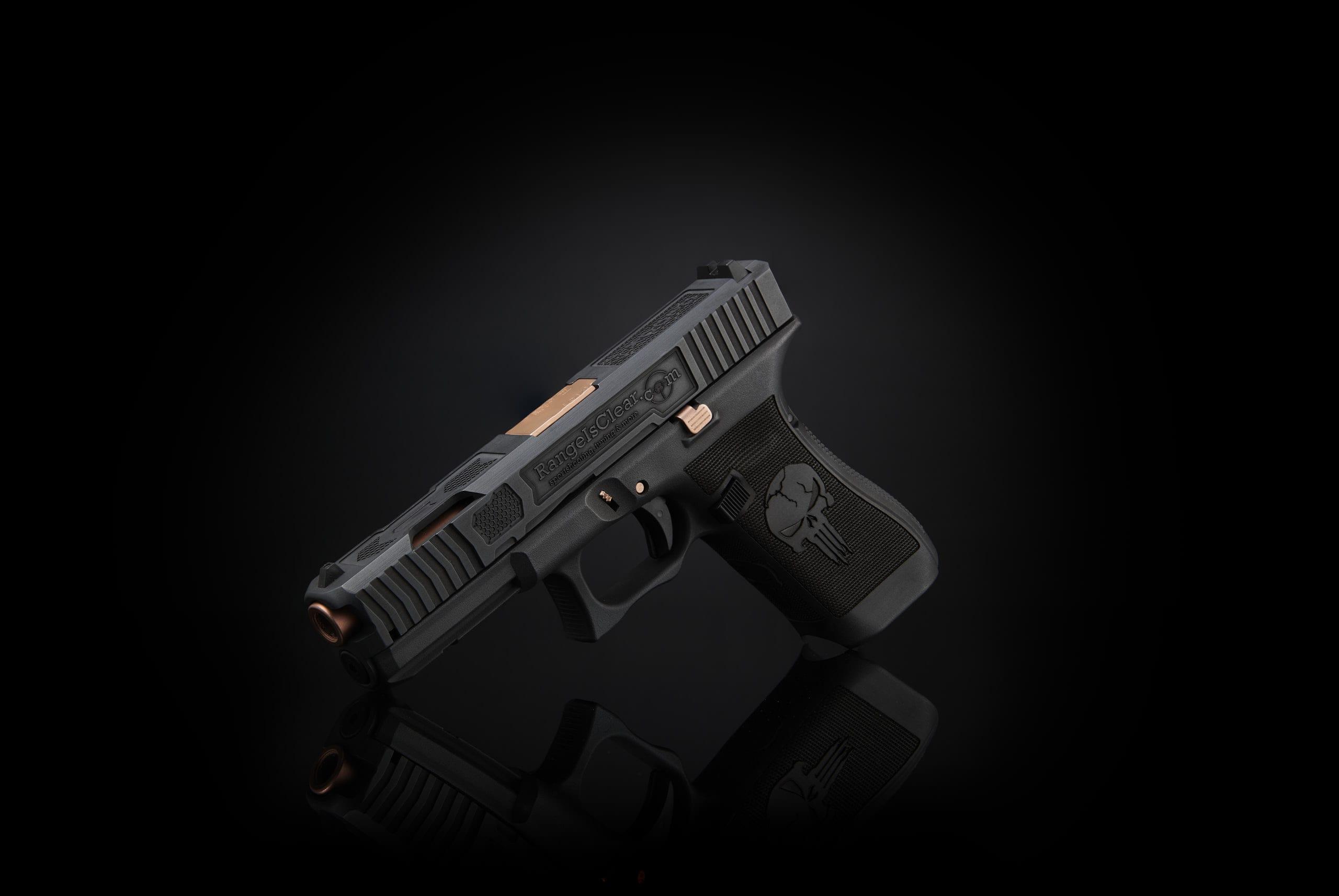 punisher glock laserstippling auf waffen österreich deutschland schweiz netherlands verex tactical