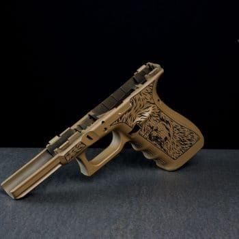 glock-griffstück-laser-stippling-laserstippling-grizzly-logo-glock-tuning-by-verex-tactical