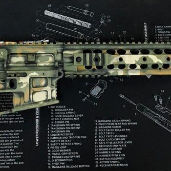 AR 15 Woodlan