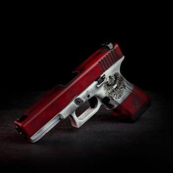 Österreich-Glock-Austria-Edition-Cerakote-Laser-Engraving-Glock-17-Gen-4-Smith&-Wesson-Red-Bright-White