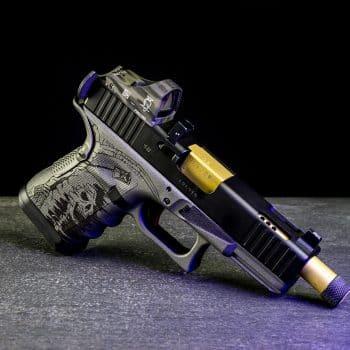 glock-19-reaper-sensenmann-engraving-gravur-cerakote-pvd-barrel-lauf-red-dot-docter-sight-cut-fräsen-deutschland-österreich-verex-tactical-tuning