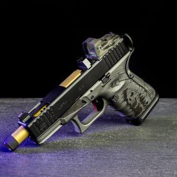 glock-19c-reaper-sensenmann-engraving-gravur-cerakote-pvd-barrel-lauf-red-dot-docter-sight-cut-fräsen-deutschland-österreich-verex-tactical-tuning