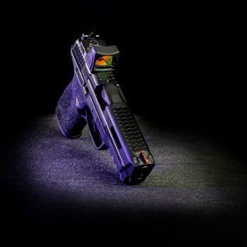 smith&wesson-m&p-trijicon-red-dot-ausfräsung-slide-cut-usa-laser-engraving-dlc-beschichtung-verex-tactical-tuning
