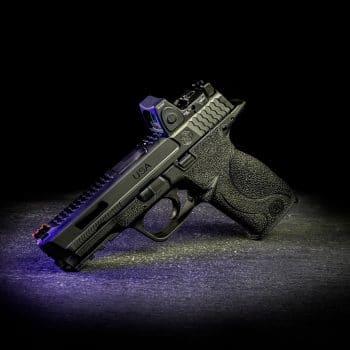 smith&wesson-m&p-trijicon-reflexvisier-ausfräsung-slide-cut-usa-laser-engraving-dlc-beschichtung-verex-tactical-tuning