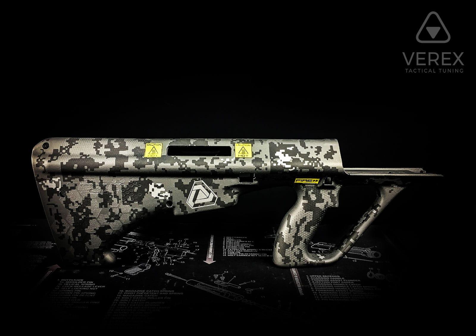 steyr-aug-stg77-sturmgewehr-cerakote-lasergravur-waffentuning-by-verex-tactical-tuning-salzburg-österreich-deutschland-europa