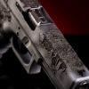2 terminator cyborg gun glock 17 gen3 custom theme gun waffentuning unikate waffe österreich deutschland schweiz verex tactical tuning