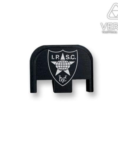 ipsc-1-logo-glock-backplate-slide-cover-verex-tactical-waffentuning-tuningteile